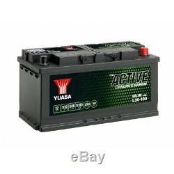 Batterie Yuasa Camping Bateau Décharge Lente L36-100 Leisure Garantie 2 ans 12V
