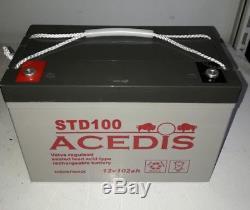 Batterie a décharge lente ACEDIS STD100 amp