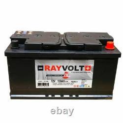 Batterie a décharge lente RAYVOLT 12V 100AH