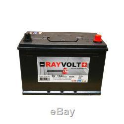 Batterie a décharge lente RAYVOLT 12V 105AH