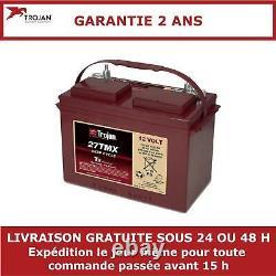 Batterie à décharge lente Trojan 27TMX 12V 105Ah