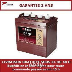 Batterie à décharge lente Trojan T875 8V 170Ah