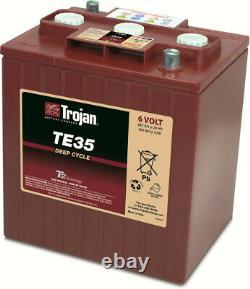Batterie à décharge lente Trojan TE35 6V 245Ah