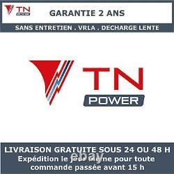 Batterie à decharge lente VRLA TNE12-100 TN Power 12V 100Ah