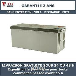 Batterie à decharge lente VRLA TNE12-230 TN Power 12V 230Ah