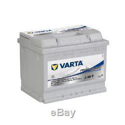 Batterie à décharge lente caravane Varta 12v 60ah haut de gamme prête à l'emploi
