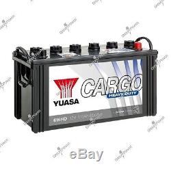 Batterie bateau, camion, décharge lente 616HD 12V 110Ah 650A Yuasa HD