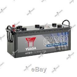 Batterie bateau, camion, décharge lente 627SHD 12V 143Ah 900A Yuasa SHD