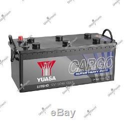 Batterie bateau, camion, décharge lente 629SHD 12V 180Ah 1050A Yuasa SHD