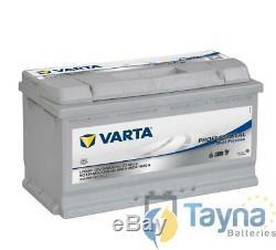 Batterie camping car Varta LFD90 12v 90ah decharge lente haut de gamme