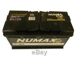 Batterie de décharge lente Loisirs/Camping-cars Numax Marine LOISIRS. XVL5MF 12V