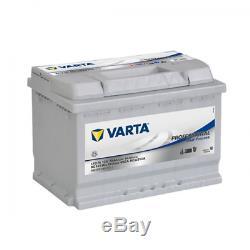 Batterie de démarrage Varta Professionnal Décharge lente L2 LFD60 12V 60Ah / 56