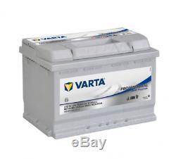 Batterie de démarrage Varta Professionnal Décharge lente L3 LFD75 12V 75Ah / 65