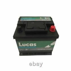 Batterie de démarrage et décharge lente pour Loisirs/Camping-cars 12V 50Ah / 440