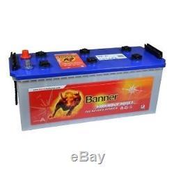 Batterie décharge lente 12v 130ah C20 Banner Energy bull 96051