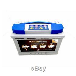 Batterie décharge lente AGM Power Battery 12v 88ah
