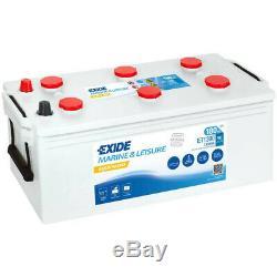 Batterie décharge lente Exide ET1300 Equipement 12v 180 ah