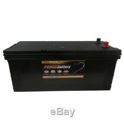 Batterie décharge lente Power Battery 12v 180ah sans entretien