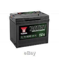 Batterie décharge lente Yuasa L26-70 Leisure 12v 70ah