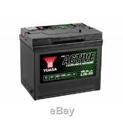Batterie décharge lente Yuasa L26-80 Leisure 12v 80ah