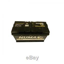 Batterie marine 12V 100AH 800A DUAL XVL5MF démarrage et décharge lente
