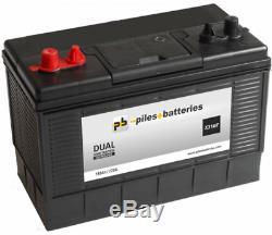 Batterie marine 12V 110AH 720A DUAL XV31MF démarrage et décharge lente