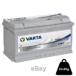 Batterie pour bateau VARTA LFD90 12v 90ah decharge lente