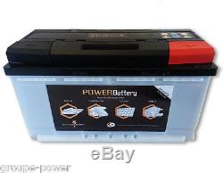 Batterie pour camping car 12v 130ah decharge lente 1000 cycles