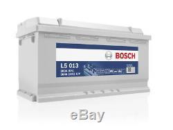 Bosch L5013 Batterie décharge lente 12V, 90Ah, 800A Loisirs, Camping-Cars