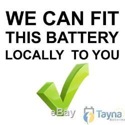 C6 Varta 50Ah NEW 12V Batterie Voiture. TYPE 063. Batterie