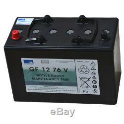 Exide Ensoleillement Batterie au Gel Traction Dryfit Bloque Gf 12 076v