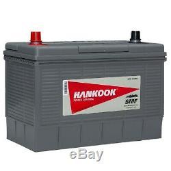 Hankook 12V 130Ah Batterie Décharge Lente Pour Caravane, Camping Car Bateau