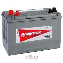 Hankook 12V 90Ah Batterie Décharge Lente Pour Loisirs, Caravane et Bateau DC27