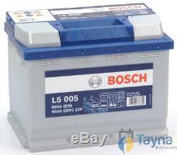 L5005 Bosch Batterie Camping Bateau 12V 60Ah L5 005