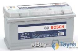 L5013 Bosch Batterie Camping Bateau 12V 90Ah L5 013 LFD90