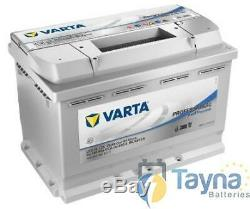 LFD75 Varta Professional DC Batterie Camping Bateau 75Ah (930075065)