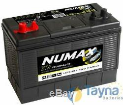 Numax XV31MF Sealed Batterie Camping Bateau 12V 105Ah