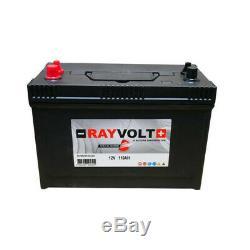 RAYVOLT Batterie Marine Décharge Lente 12V 110AH
