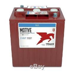 Trojan cyclic batterie 245Ah 6V TE35 acide libre voiture de golf photovoltaïque