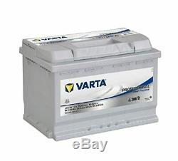 Varta Professionnal Decharge Lente Lfd75 Batterie Bateaux, Camping-Cars, Loisirs