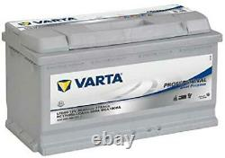 Varta Professionnal Decharge Lente Lfd90 Batterie Bateaux, Camping-Cars, Loisirs