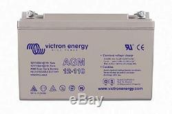 Victron Energy AGM Batterie de Loisirs Décharge Lente 12V/110AH BAT412101085