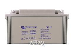 Victron Energy AGM Batterie de Loisirs Décharge Lente 12V/130AH BAT412121084
