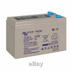 Victron Energy AGM Batterie de Loisirs Décharge Lente 12V/15AH BAT412015080