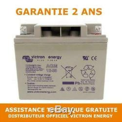 Victron Energy AGM Batterie de Loisirs Décharge Lente 12V/38AH BAT412350084
