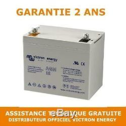 Victron Energy AGM Batterie de Loisirs Decharge Lente 12V/60AH BAT412550084