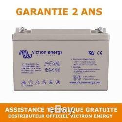 Victron Energy AGM Batterie de Loisirs à Décharge Lente 12V/110AH BAT412101084