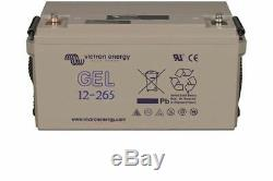 Victron Energy GEL Batterie de Loisirs à Décharge Lente 12V/265AH BAT412126101
