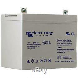 Victron Energy GEL Batterie de Loisirs à Décharge Lente 12V/66AH BAT412600104
