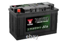 Yuasa L35-100 Batterie Décharge Lente Pour Caravane et Camping Car 12V 100Ah